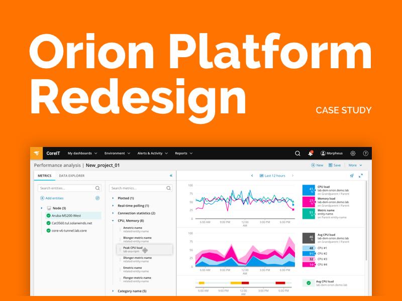 Orion Platform Redesign